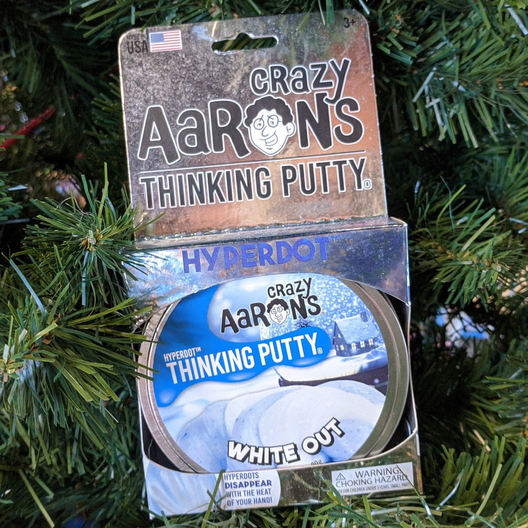 White Out Thinking Putty from Crazy Aaron's