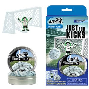 Just for Kicks Soccer Goal Thinking Putty Desktop Sports