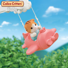Load image into Gallery viewer, Calico Critters Baby Airplane Ride