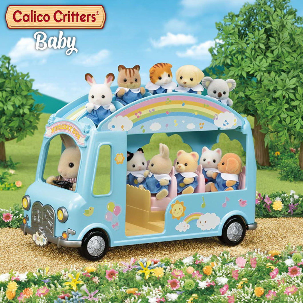 Calico Critters Baby Sunshine Nursery Bus