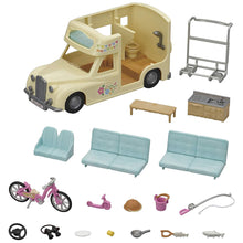 Load image into Gallery viewer, Calico Critters Family Campervan