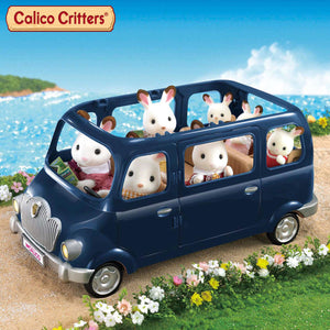 Calico Critters Family Seven Seater Car