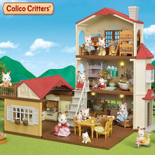 Load image into Gallery viewer, Calico Critters Red Roof Country Home Gift Set
