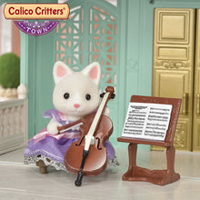 Load image into Gallery viewer, Calico Critters Town Cello Concert Set