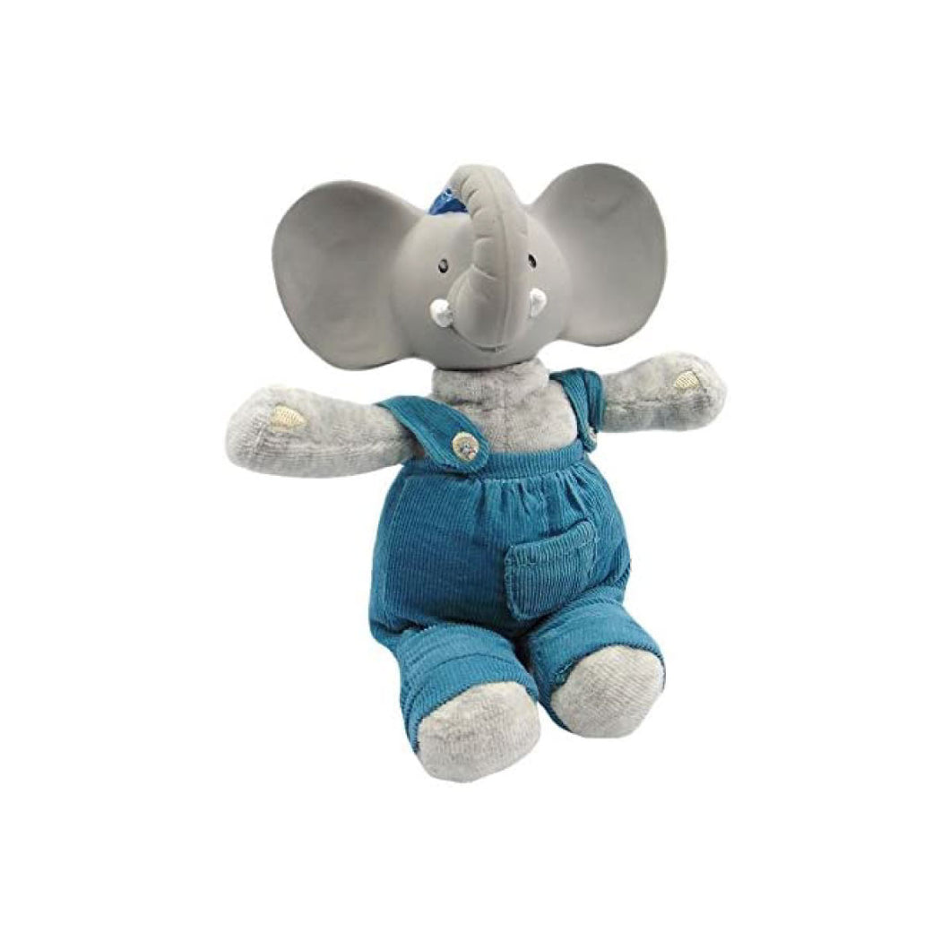 Alvin the Elephant Natural Rubber Teether & Soft Toy