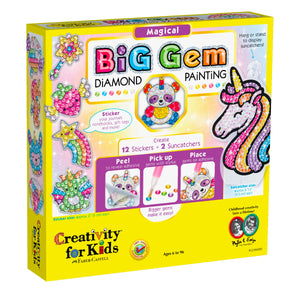 Magical Big Gem Diamond Painting from Creativity for Kids