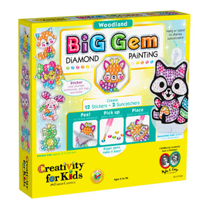 Woodland Big Gem Diamond Painting from Creativity for Kids