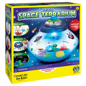 Crystal Space Terrarium from Creativity for Kids
