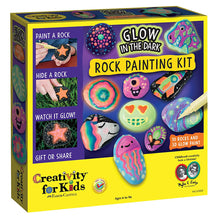 Load image into Gallery viewer, Glow in the Dark Rock Painting Kit from Creativity for Kids