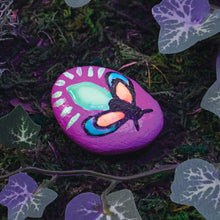 Load image into Gallery viewer, Firefly Example of Glow in the Dark Rock Painting from Creativity for Kids