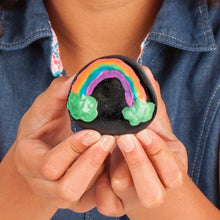 Load image into Gallery viewer, Rainbow Example of Glow in the Dark Rock Painting Kit from Creativity for Kids