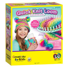 Load image into Gallery viewer, Quick Knit Loom Kit from Creativity for Kids