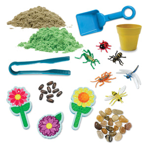 Sensory Bin Garden & Critters from Creativity for Kids