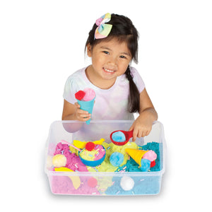 Sensory Bin Ice Cream Shop from Creativity for Kids