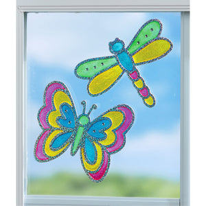 Creativity for Kids Window Art Kits Bug Buddies