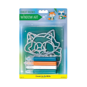 Creativity for Kids Window Art Kits Forest Friends