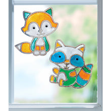 Load image into Gallery viewer, Creativity for Kids Window Art Kits Forest Friends