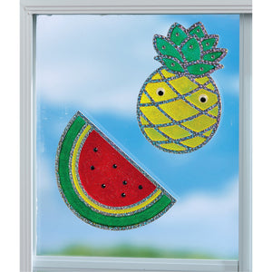 Creativity for Kids Window Art Kits Fun Fruit