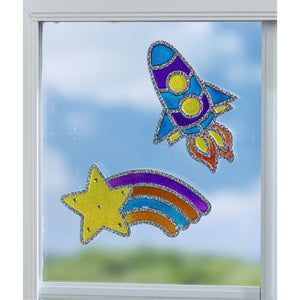 Creativity for Kids Window Art Kits Outer Space