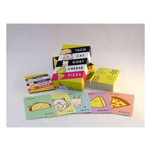 Taco Cat Goat Cheese Pizza Card Game from Dolphin Hat