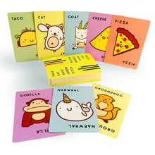 Load image into Gallery viewer, Taco Cat Goat Cheese Pizza Card Game from Dolphin Hat