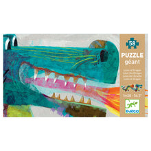 Load image into Gallery viewer, Leon the Dragon Jigsaw Floor Puzzle