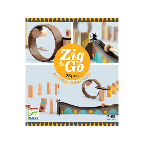 Zig & Go 25 Action Reaction from Djeco