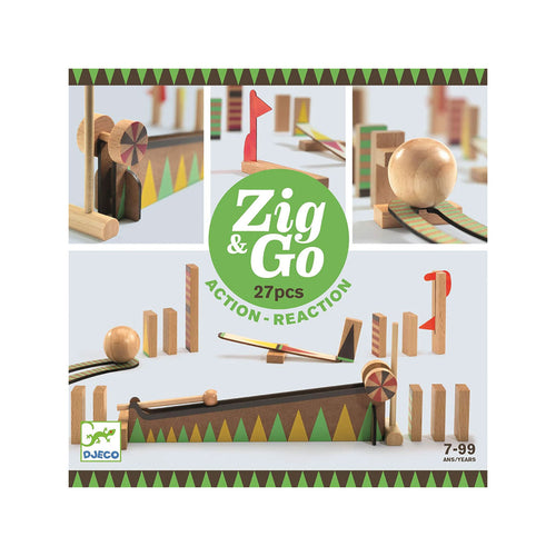 Zig & Go 27 Action Reaction from Djeco