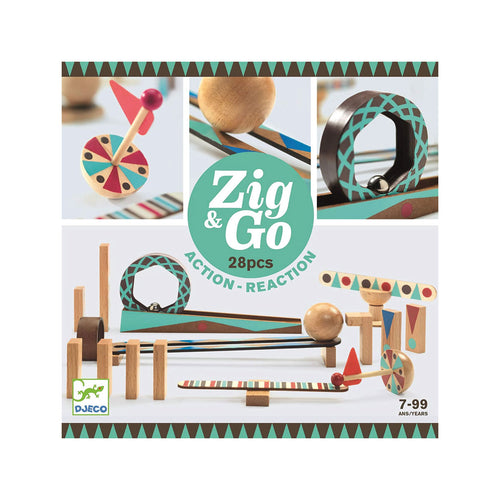 Zig & Go 28 Action Reaction from Djeco