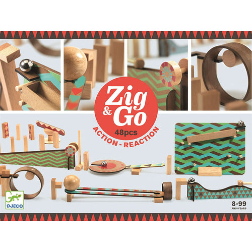 Zig & Go 48 Action Reaction from Djeco