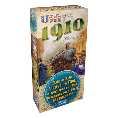 Ticket to Ride - USA 1910 Expansion from Days of Wonder