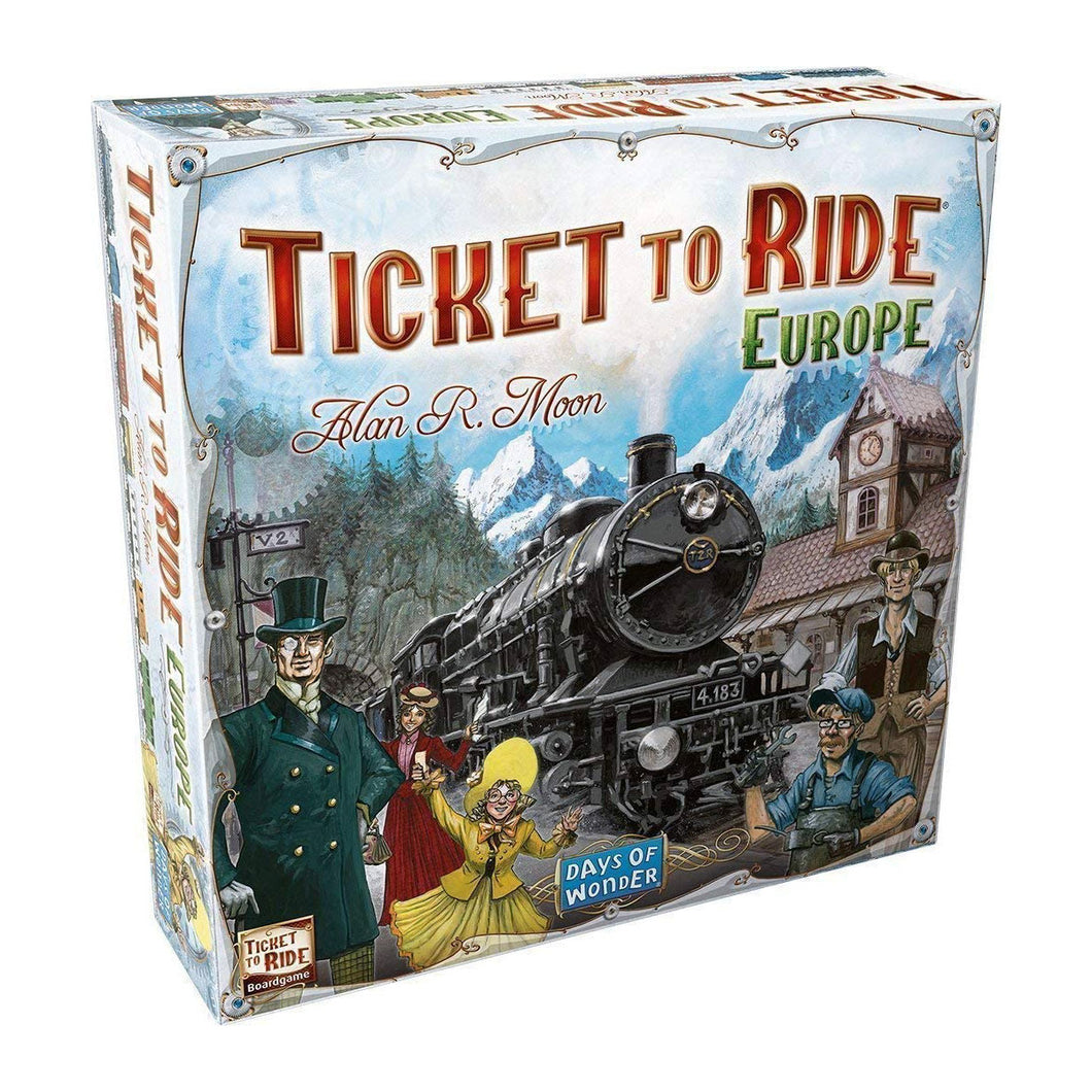 Ticket to Ride Europe from Days of Wonder