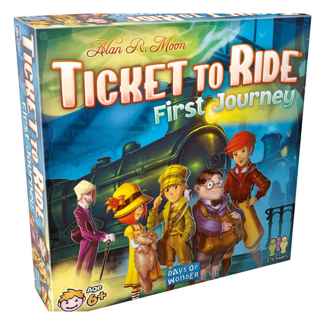 Ticket to Ride First Journey from Days of Wonder