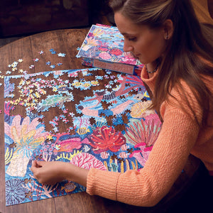 Coral Reef - 1000 pc Jigsaw Puzzle from Eeboo