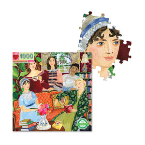 Jane Austen's Book Club - 1000 pc Jigsaw Puzzle from Eeboo