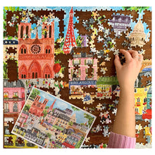 Load image into Gallery viewer, Paris in a Day - 1000 pc Puzzle