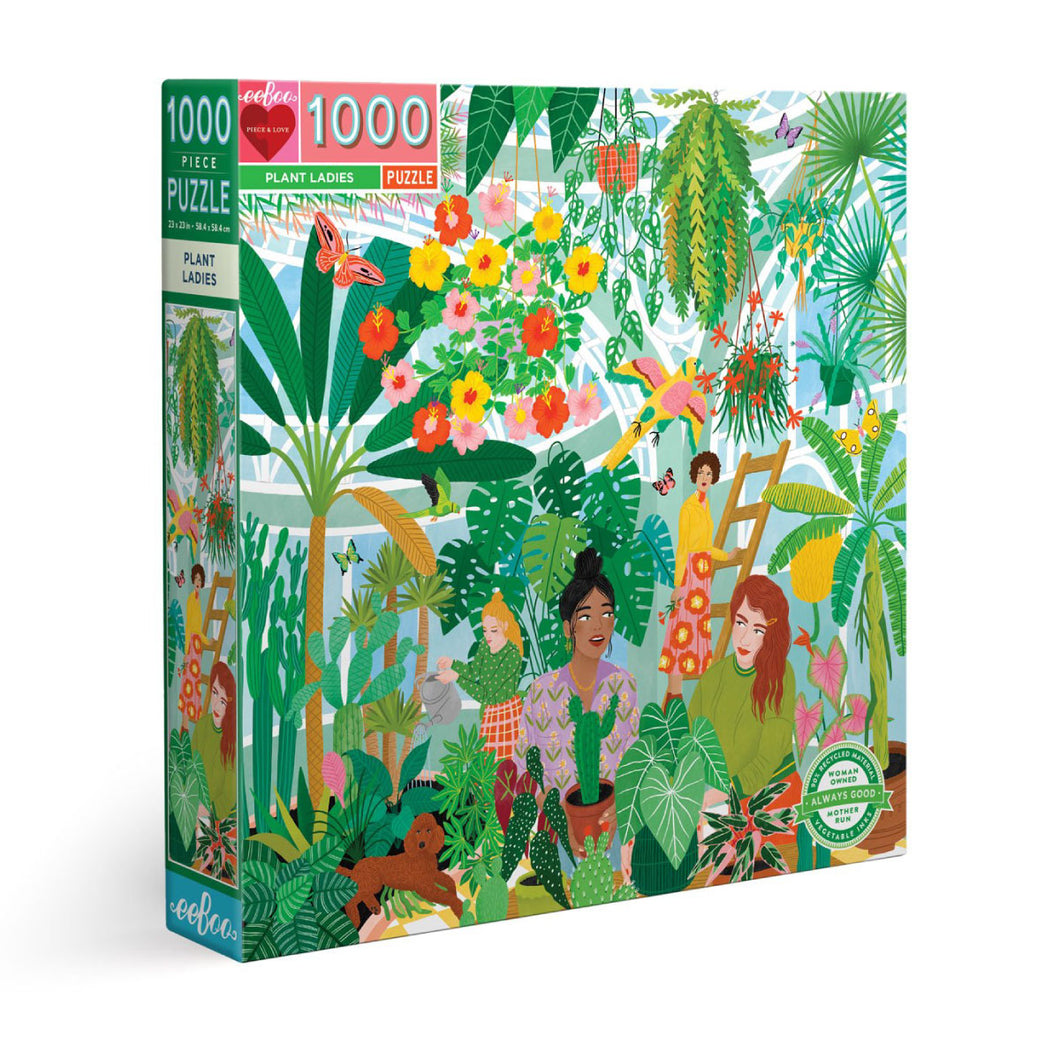 Plant Ladies - 1000 pc Jigsaw Puzzle from Eeboo