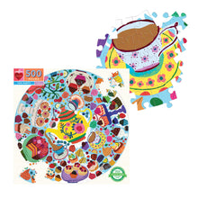 Load image into Gallery viewer, Tea Party - 500 pc Jigsaw Puzzle from Eeboo