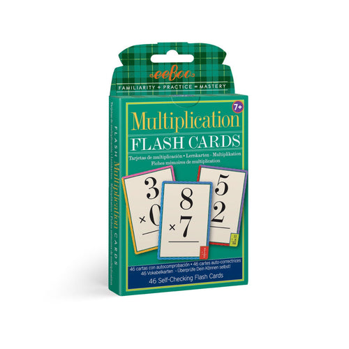 Flash Cards - Multiplication from eeBoo