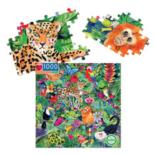 Load image into Gallery viewer, Amazon Rainforest Jigsaw Puzzle - 1000 pc from Eeboo