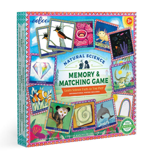 Natural Science Memory & Matching Game