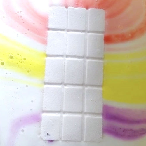 It's a Good Day for a Birthday Rainbow Bath Bar from Feeling Smitten