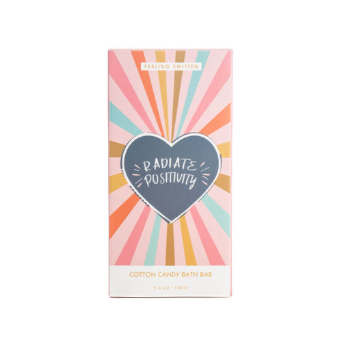 Radiate Positivity Rainbow Bath Bar from Feeling Smitten