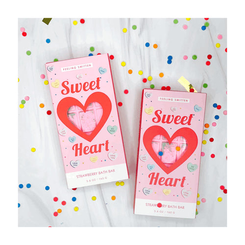 Sweet Heart Rainbow Bath Bar from Feeling Smitten