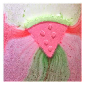 Rainbow Show! Watermelon Bath Fizzy from Feeling Smitten