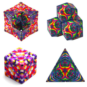 Confetti Shashibo Artist Series from Fun In Motion Toys
