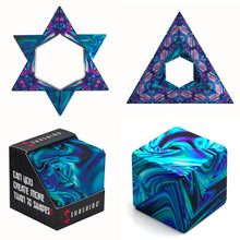 Load image into Gallery viewer, Mystic Ocean Shashibo Artist Series from Fun In Motion Toys