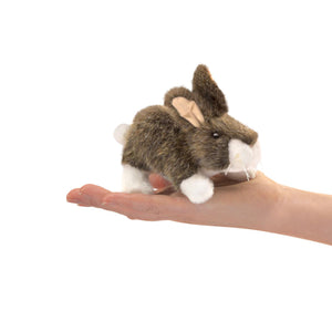 Mini Cottontail Rabbit Finger Puppet from Folkmanis
