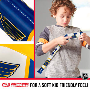 NHL Soft Sports St Louis Blues Hockey Stick from Franklin Sports