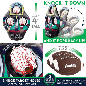 Inflatable Football Target from Franklin Sports